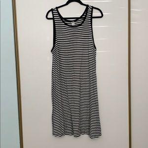 Stripped Swing Dress